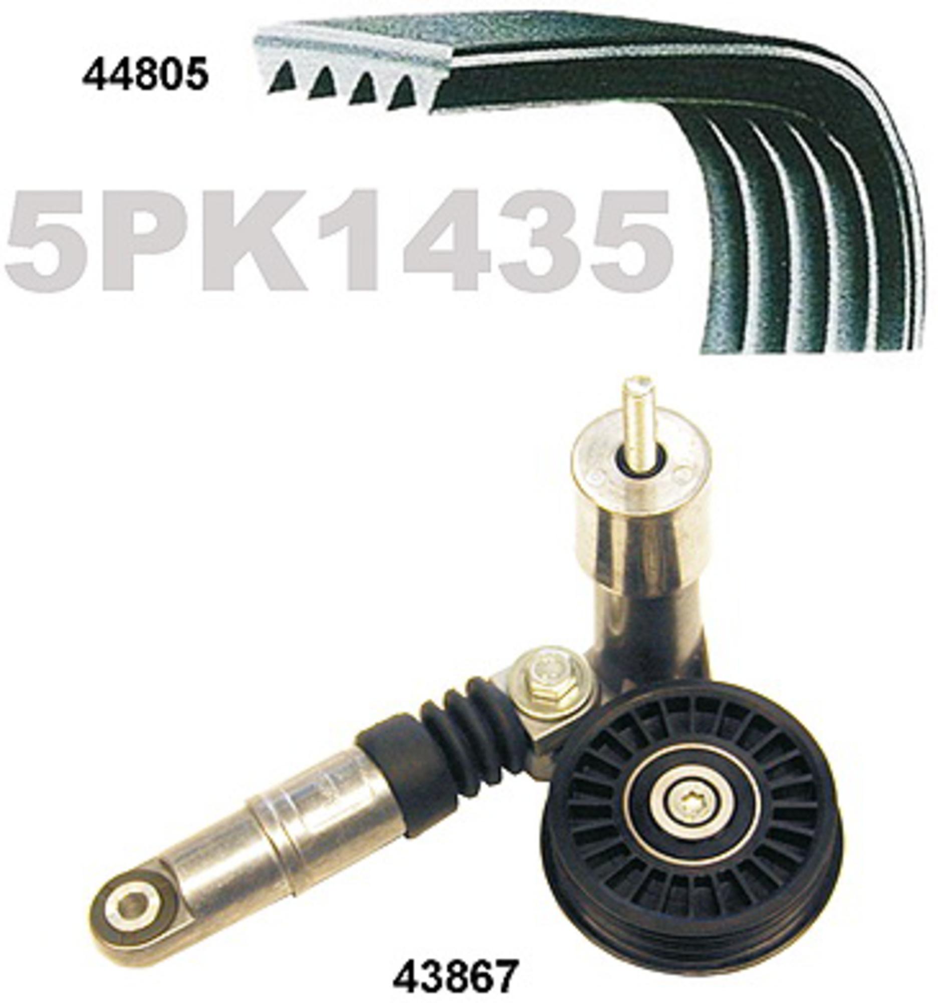 MAPCO 73805 Kit Cinghie Poly-V