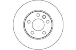 MAPCO 15839 Disco  freno