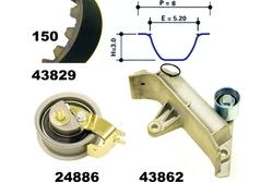 MAPCO 23830 Kit Distribuzione