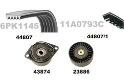 MAPCO 73807 Kit Cinghie Poly-V