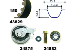 MAPCO 23912 Kit Distribuzione