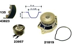 MAPCO 41823/1 kit distribuzione + pompa acqua