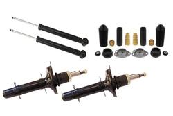 MAPCO 40904 Kit 4 ammortizzatori + tamponi + supporti